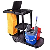 Viva Brite Janitorial Cleaning Trolley Bundle