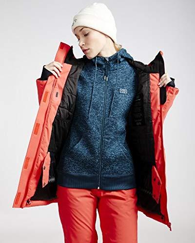 Billabong Women's Trooper Snow Jacket Red Small
