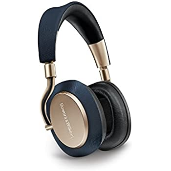 Bowers & Wilkins PX Active Noise Cancelling Wireless Headphones, Best-in-class Sound, Soft Gold