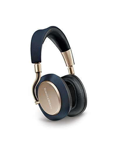 Bowers & Wilkins PX Active Noise Cancelling Wireless Headphones, Best-in-class Sound, Soft Gold ()