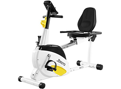 JOROTO Smart Indoor Recumbent Exercise Bike, MH20 Cardio Fitness Cycling Machine Home Stationary Trainer with Pulse