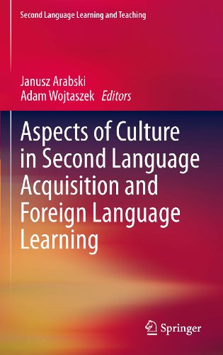 Download Aspects of Culture in Second Language Acquisition and Foreign Language Learning (Second Language Learning and Teaching) Pdf