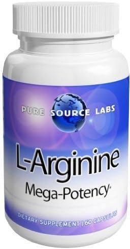 Eden Pond L-Arginine 1000mg from Purecap Labs Capsules, 60 Count