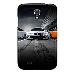 Galaxy S4 Case Cover - Slim Fit Tpu Protector Shock Absorbent Case (bmw)