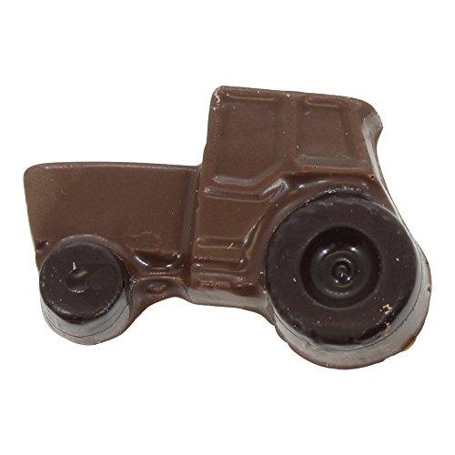 [Mini Solid Chocolate Tractor] (Belgium Chocolate Favors)