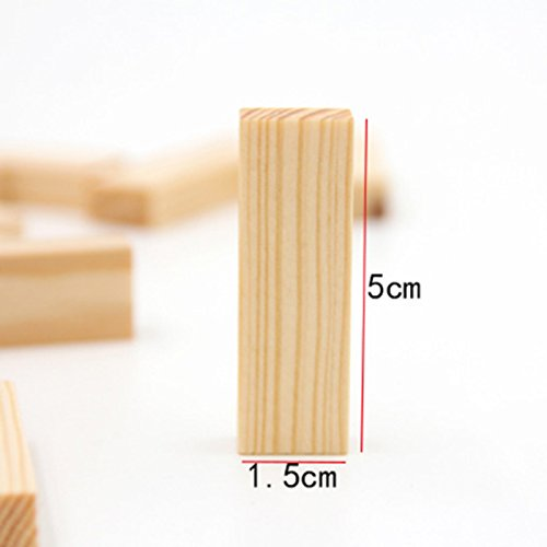 Autumn Water Mini 48 PCS/Set Small Size Jenga Puzzle Board Game Family/Party Best Gift for Children Funny Building Blocks Game