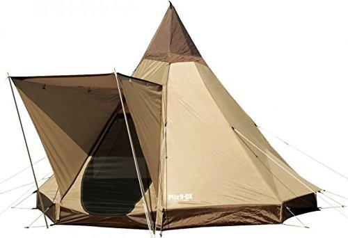 Ogawa Campal Pilz 9-DX 4 Tent - 4 Person, 2 Pilz 9-dx Brown