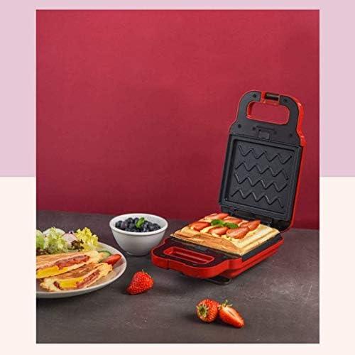 LKNJLL Wafelijzer, Non-Stick, Sandwich Machine, licht ontbijt Machine Waffle Machine Brood Spit Driver
