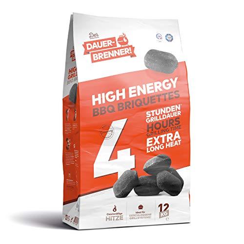Der Dauerbrenner High Energy Briquettes pour Barbecue Noir 12 kg