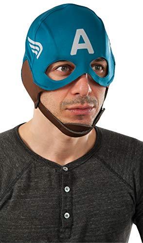 Rubie's Men's Marvel Universe Captain America Winter Soldier Retro Mask, Multicolor, One Size -