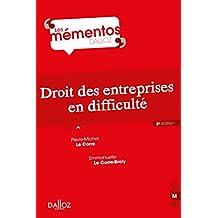 Droit des entreprises en difficulté (French Edition)