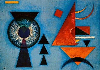 Lámina Corazón blando|Weiches Hart, de Wassily Kandinsky, Tamaño: 101