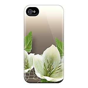 New Cute Funny Flowers Of White Cases Covers/ HTC One M8 Cases Covers
