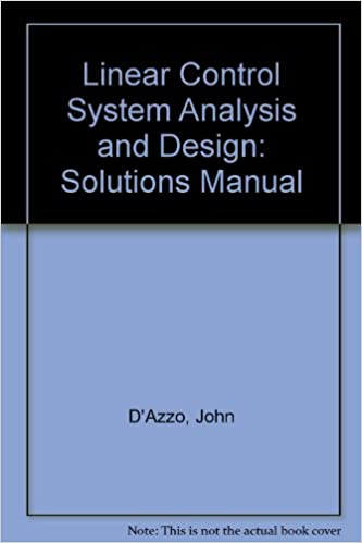Buy Linear Control System Analysis And Design Solutions Manual Book Online At Low Prices In India Linear Control System Analysis And Design Solutions Manual Reviews Ratings Amazon In
