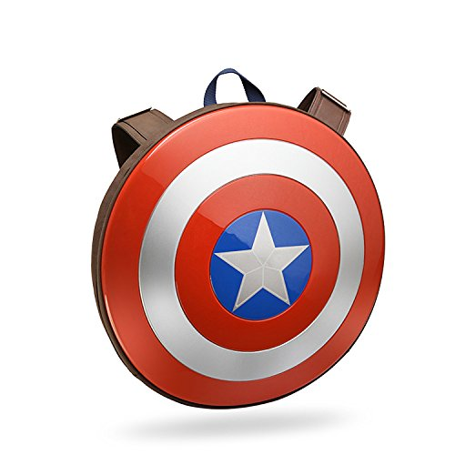 Marvel 3D Hardshell Backpack (Captain America Shield) by Mtime