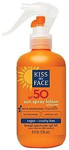 Kiss My Face Sun Spray Sunscreen