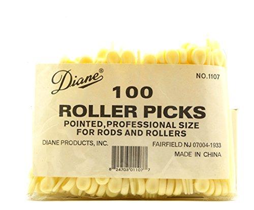 Diane White Point Roller Pick