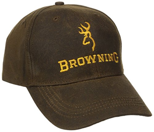 Browning Dura-Wax Cap, Brown, Semi-Fitted