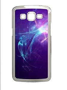 Samsung 2 7106 Case Violet Light Background Image PC Samsung 2 7106 Case Cover Transparent
