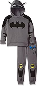 Warner Brothers Boys' 2 Piece Batman Costume Hoodie and Pant Set at Gotham City Store