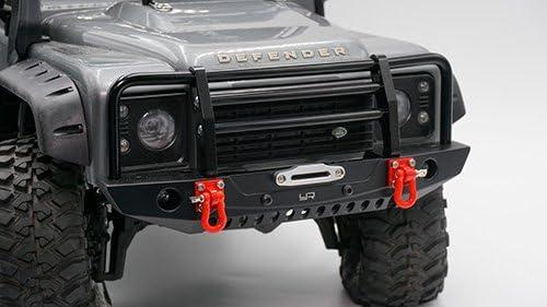 Yeah Racing Alum Alloy Front Rear Bumper w// LED Light TRX-4 Axial SCX10 II