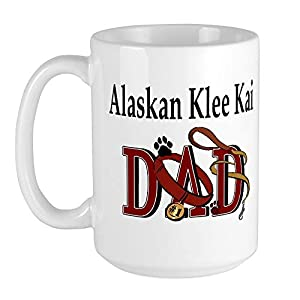 CafePress Alaskan Klee Kai Large Mug Coffee Mug, Large 15 oz. White Coffee Cup 7