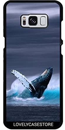 Lovelycasestore Case For Samsung Galaxy S8 Ocean Blue Whale