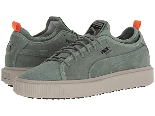[PUMA(プーマ)] メンズランニングシューズ?スニーカー?靴 Breaker Mesh FOF Laurel Wreath/Elephant Skin/Puma Black 10.5 (28.5cm) D - Medium