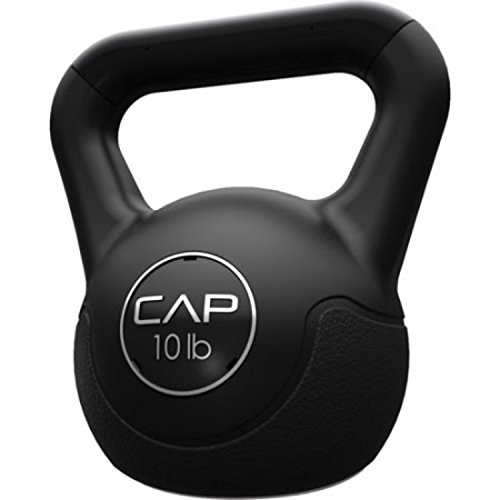 CAP Barbell Tone Fitness Vinyl Extreme Kettlebell Cardio Workout (10 lbs)