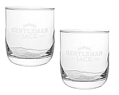 Gentleman Jack Whiskey Snifter Glass | Set of 2 Glasses