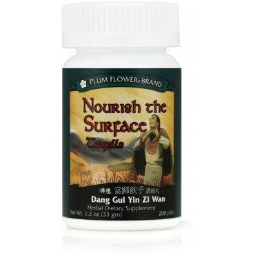 Nourish the Surface Teapills (Dang Gui Yin Zi Wan), 200 ct, Plum Flower