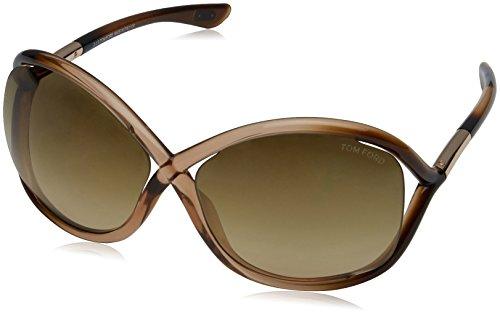 Tom Ford Whitney Tf9 74f Metallic Brown Gradient - Jennifer Ford Tom Sunglasses