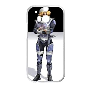 HTC One M8 Cell Phone Case White Super Smash Bros Sheik LSO7931032