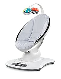 MamaRoo 4 Classic Infant Seat in Grey Natural Body Movements with Bluetooth by 4moms BOBEBE Online Baby Store From New York to Miami and Los Angeles