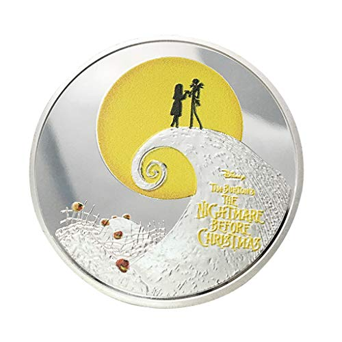 Danyerst Halloween Christmas Steel Commemorative Badge Double Sided Embossed Plated Australia Souvenir Coin Collection New Year -