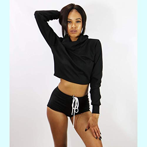 Turtle neck Sweatshirt, Women Sweater & Booty Shorts | DSY Lifestyle