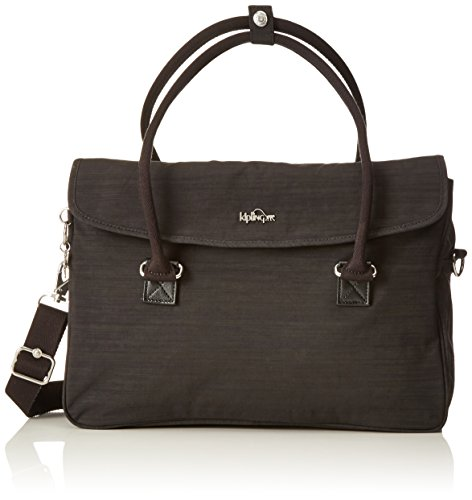 Kipling Superwork S, Briefcase, Black (Dazz Black), 38 cm, 11 liters (Kipling Laptop)