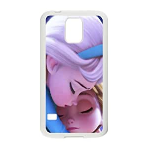 Bloomingbluerose Elsa Samsung Galaxy S5 Case Elsa with Babay, {White}
