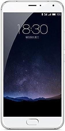Meizu Pro 5 Smartphone débloqué 4G (Ecran: 5,7 pouces - 64 Go - Double Nano) Blanc