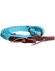 Professional`S Choice 9ft Quiet Control Single Rein Turquoise N/A