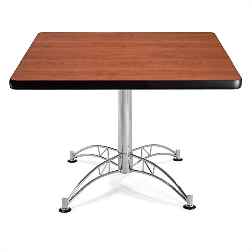 OFM KLT42SQ-CHY Square Multi-Purpose Table, 42'', Cherry by OFM