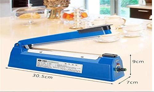 Impulse Heat Sealer Film Macchina per sigillare sacchetti di alimenti per PP e PE Sigillatore di sacchetti di plastica (200mm)