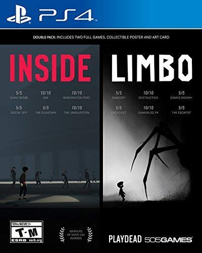 INSIDE / LIMBO Double Pack - PlayStation 4 (Game Outlast Video)