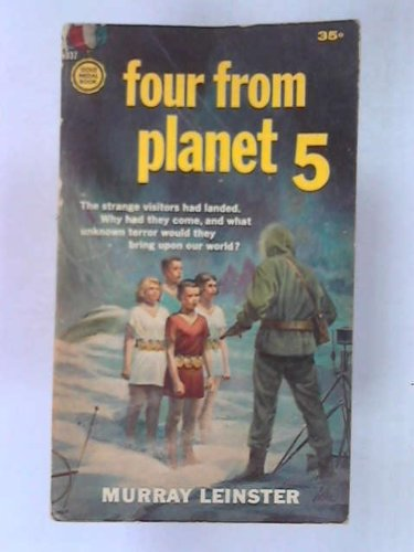 Book cover from Four From Planet 5 by Murray (pen name used by William Fitzgerald Jenkins - Will F. Je