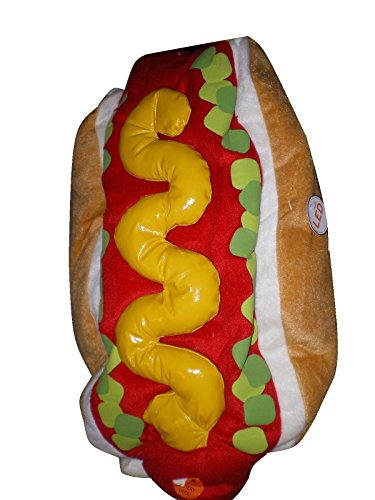 Halloween Pet Costume ~ HOT DOG ~ Size (Dog Hamburger Costume)