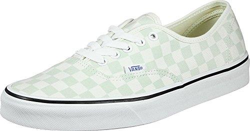 Vans de Authentic Femme Checkerboard Vert Running Chaussures rqrCE8w