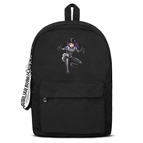 MOWAN Anime Student Canvas Backpack College for Students Book Bag (Daisy Johnson Marvel)
