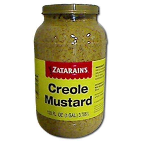 Zatarains Creole Mustard, 1 Gallon -- 4 per case. (The Best Po Boy Sandwich In New Orleans)
