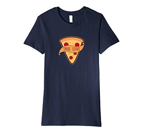 Womens Pizza Is My True Love T-shirt Funny Hot Pizza Pie Humor Medium (True Love Tee)