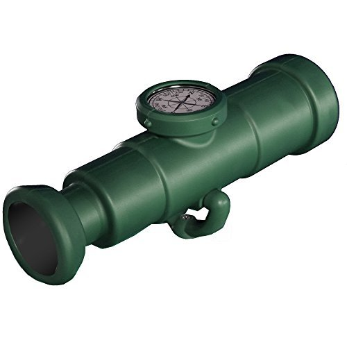 Swing-N-Slide Telescope with Compass, Green